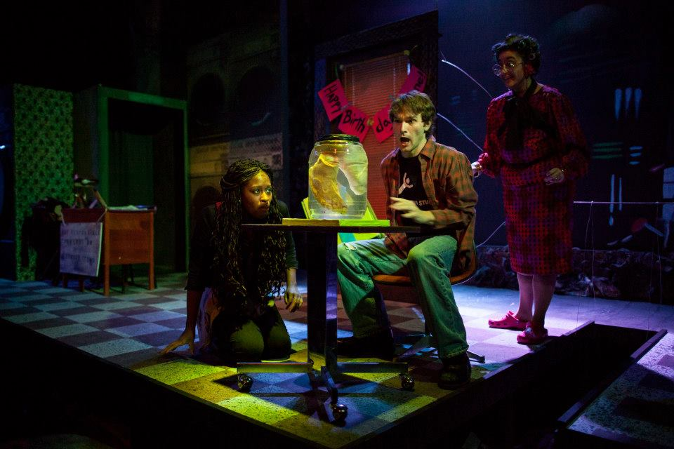 "UMKC Theatre is currently showing, ""A Devil Inside."" Photo by Brian Paulette."