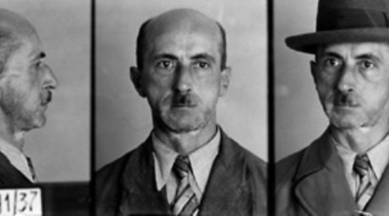 German police file photo of a man arrested in October 1937 for suspicion of violating Paragraph 175. Photo Credit: Landesarchiv, Berlin. Courtesy of the United States Holocaust Memorial Museum.