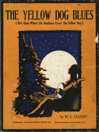 """W.C. Handy's """"The Yellow Dog Blues"""" refers to the crossing of the Southern, Yazoo and Mississippi Valley (Y&MV) railroads in Moorhead, Miss."""