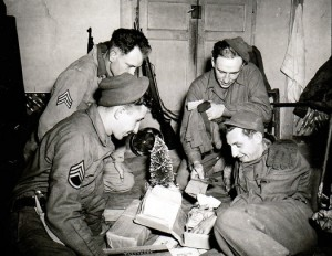 Soldiers on Christmas Eve, WWII