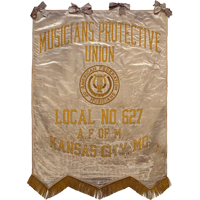 Musicians Protective Union Local No 627 banner