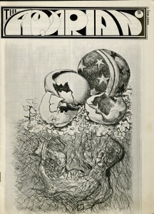 1st Issue of The Aquarian, June 1969