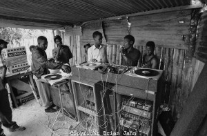 A Typical Jamaican Sound System