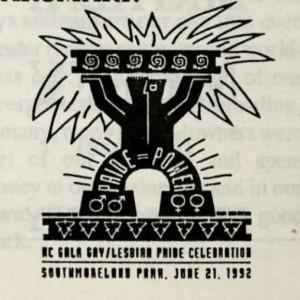 1992 Pride logo
